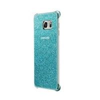 Samsung EF-XG928CLE csillámos kemény műanyag hátlaptok Samsung G928 Galaxy S6 Edge Plus-hoz kék*