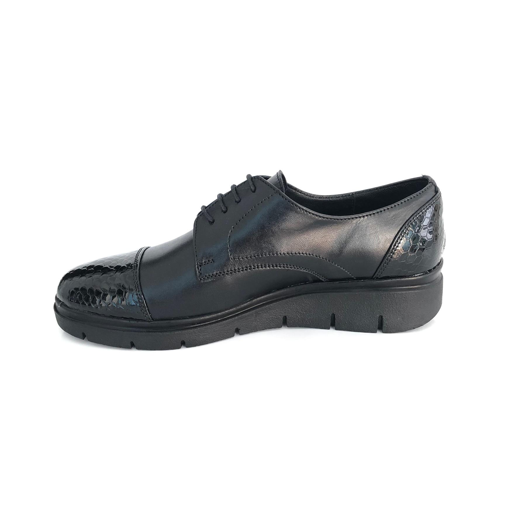 reducere cea mai mică pret ieftin design atemporal Pantofi Dama Sport cu Siret din Piele Naturala cu Talpa Ortopedica - eMAG.ro