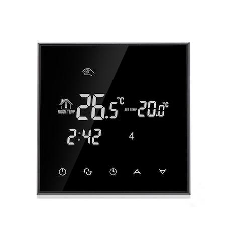 Wi-Fi termosztát elektromos padlófűtéshez BeOK TGT70WIFI-EP