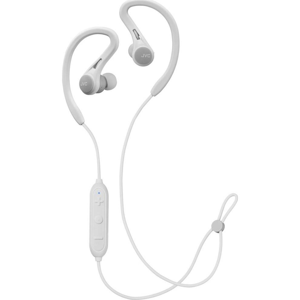 Fotografie Casti Audio Sport In Ear JVC HA-EC25W-H-U, Wireless, Bluetooth, Microfon, Autonomie 6.5 ore, Alb