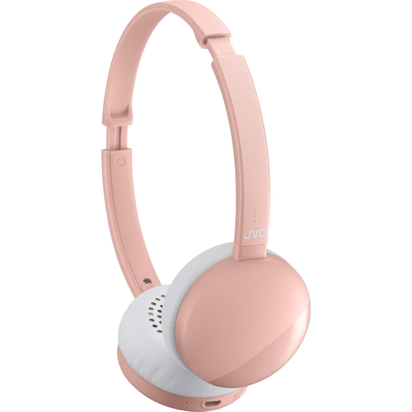 Fotografie Casti Audio On Ear JVC HA-S22W-P-U, Wireless, Bluetooth, Microfon, Autonomie 17 ore, Roz