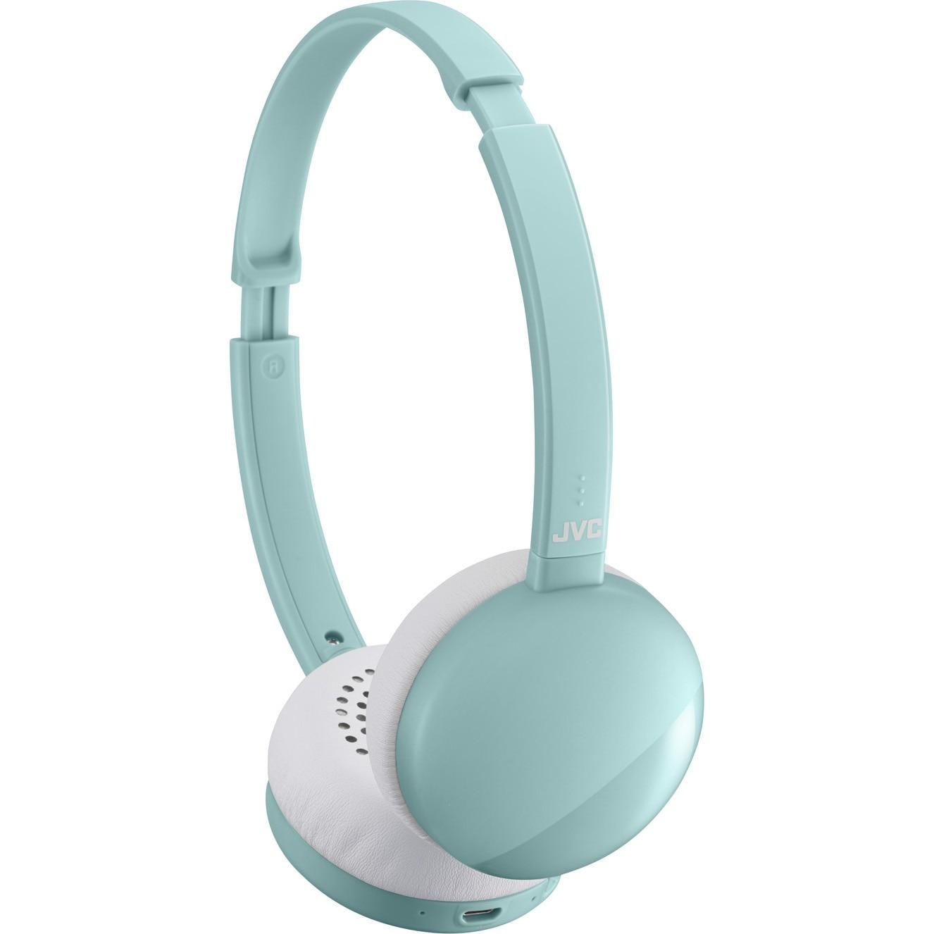 Fotografie Casti Audio On Ear JVC HA-S22W-Z-U, Wireless, Bluetooth, Microfon, Autonomie 17 ore, Bleu