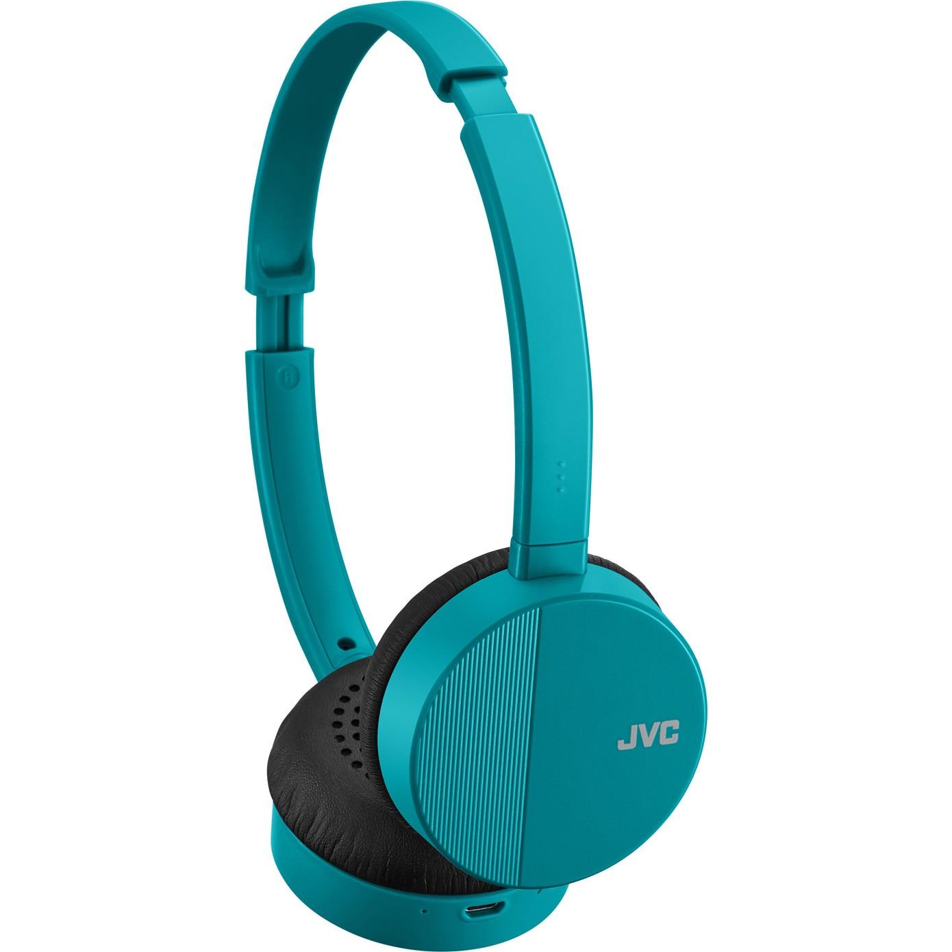Fotografie Casti Audio On Ear JVC HA-S24W-Z-E, Wireless, Bluetooth, Autonomie 17 ore, Bleu
