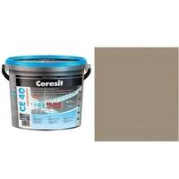 Фугираща смес Ceresit CE40, 2кг, Циментово сива, Аквастатичен ефект, Вътрешно и външно приложение, За стени, Подове, Фаянс, Плочи, Мозайки