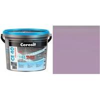 Фугираща смес Ceresit CE40, 2кг, Лила, Аквастатичен ефект, Вътрешно и външно приложение, За стени, Подове, Фаянс, Плочи, Мозайки