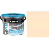 Фугираща смес Ceresit CE40, 2кг, Жасмин, Аквастатичен ефект, Вътрешно и външно приложение, За стени, Подове, Фаянс, Плочи, Мозайки