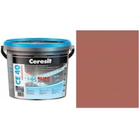 Фугираща смес Ceresit CE40, 2кг, Какао, Аквастатичен ефект, Вътрешно и външно приложение, За стени, Подове, Фаянс, Плочи, Мозайки