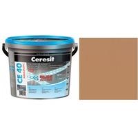 Фугираща смес Ceresit CE40, 2кг, Сиена, Аквастатичен ефект, Вътрешно и външно приложение, За стени, Подове, Фаянс, Плочи, Мозайки