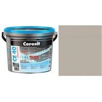 Фугираща смес Ceresit CE40, 2кг, Сребрист, Аквастатичен ефект, Вътрешно и външно приложение, За стени, Подове, Фаянс, Плочи, Мозайки