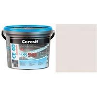 Фугираща смес Ceresit CE40, 2кг, Пергамон, Аквастатичен ефект, Вътрешно и външно приложение, За стени, Подове, Фаянс, Плочи, Мозайки
