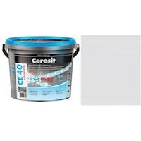 Фугираща смес Ceresit CE40, 2кг, Карара, Аквастатичен ефект, Вътрешно и външно приложение, За стени, Подове, Фаянс, Плочи, Мозайки