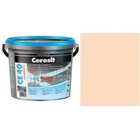 Фугираща смес Ceresit CE40, 2кг, Крем, Аквастатичен ефект, Вътрешно и външно приложение, За стени, Подове, Фаянс, Плочи, Мозайки