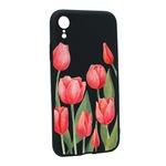 Силиконов калъф Unique за Apple iPhone XR, Red Roses, B633
