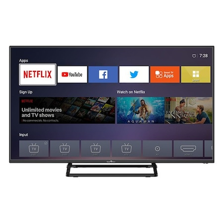 SmartTech SMT40P28FV1U1B1, FHD Led TV, Smart Netflix TV, 100 cm