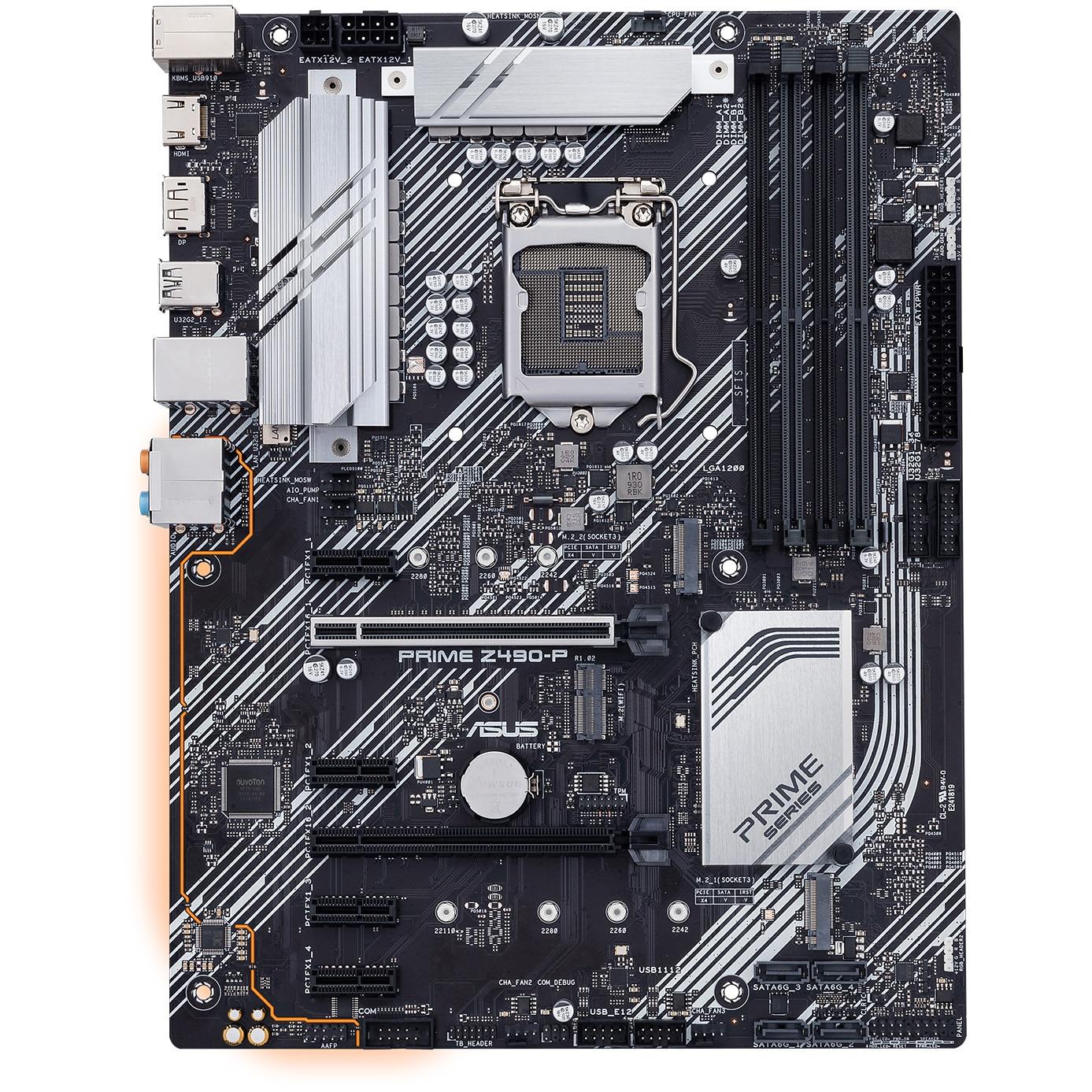 Fotografie Placa de baza ASUS PRIME Z490-P, Socket 1200