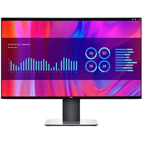 """Fotografie Monitor LED IPS Dell UltraSharp 27"""", WQHD, DisplayPort, USB-C, Pivot, RJ45, Negru, U2721DE"""