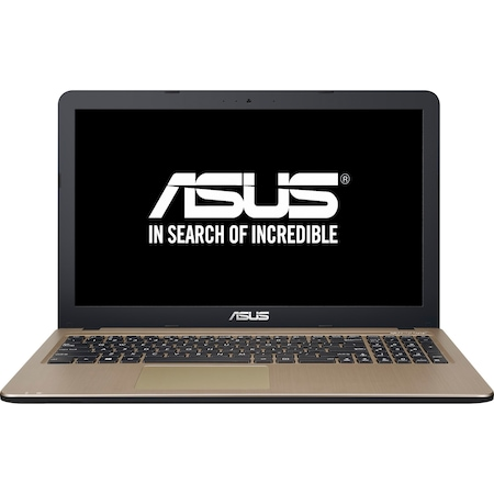 "Лаптоп ASUS X540SA-XX005D с процесор Intel® Celeron® Quad Core™ N3150 1.60GHz, Braswell, 15.6"", 4GB, 500GB, DVD-RW, Free DOS, Black"