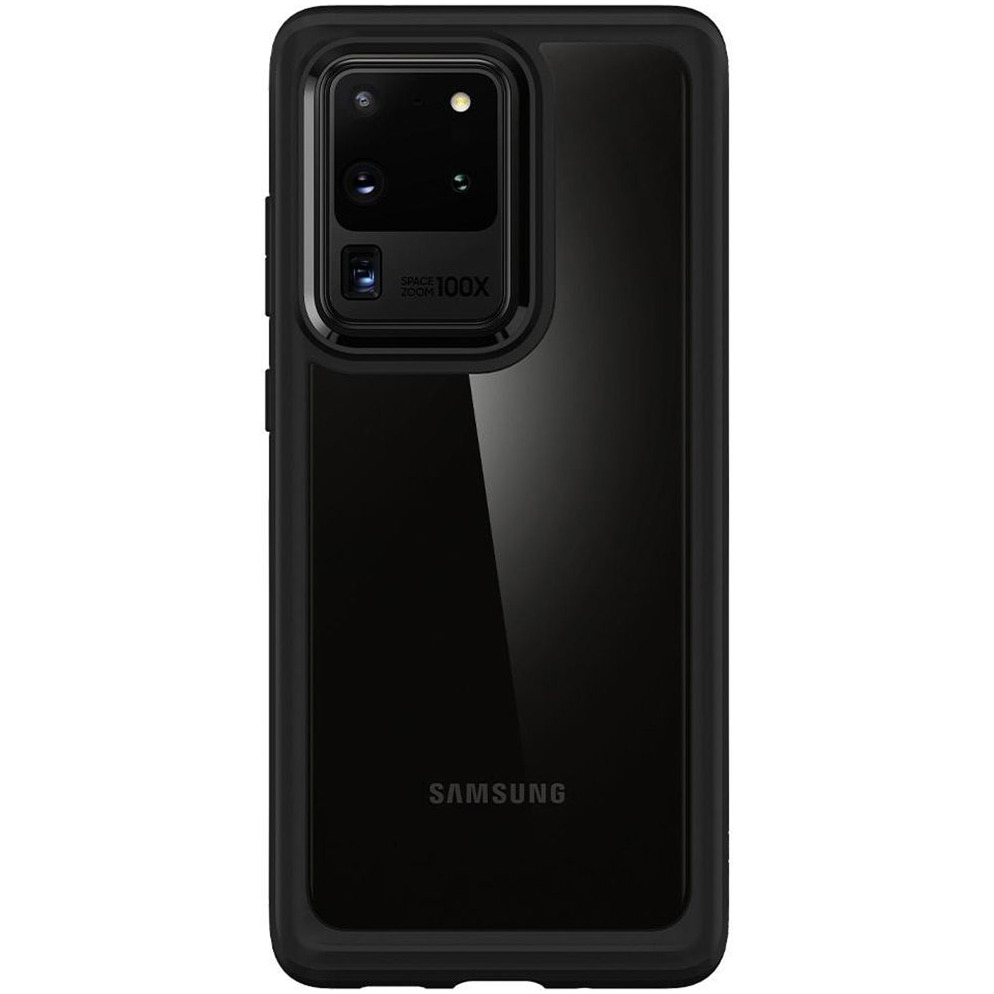 Fotografie Husa de protectie Spigen Ultra Hybrid pentru Samsung Galaxy S20 Ultra, Black