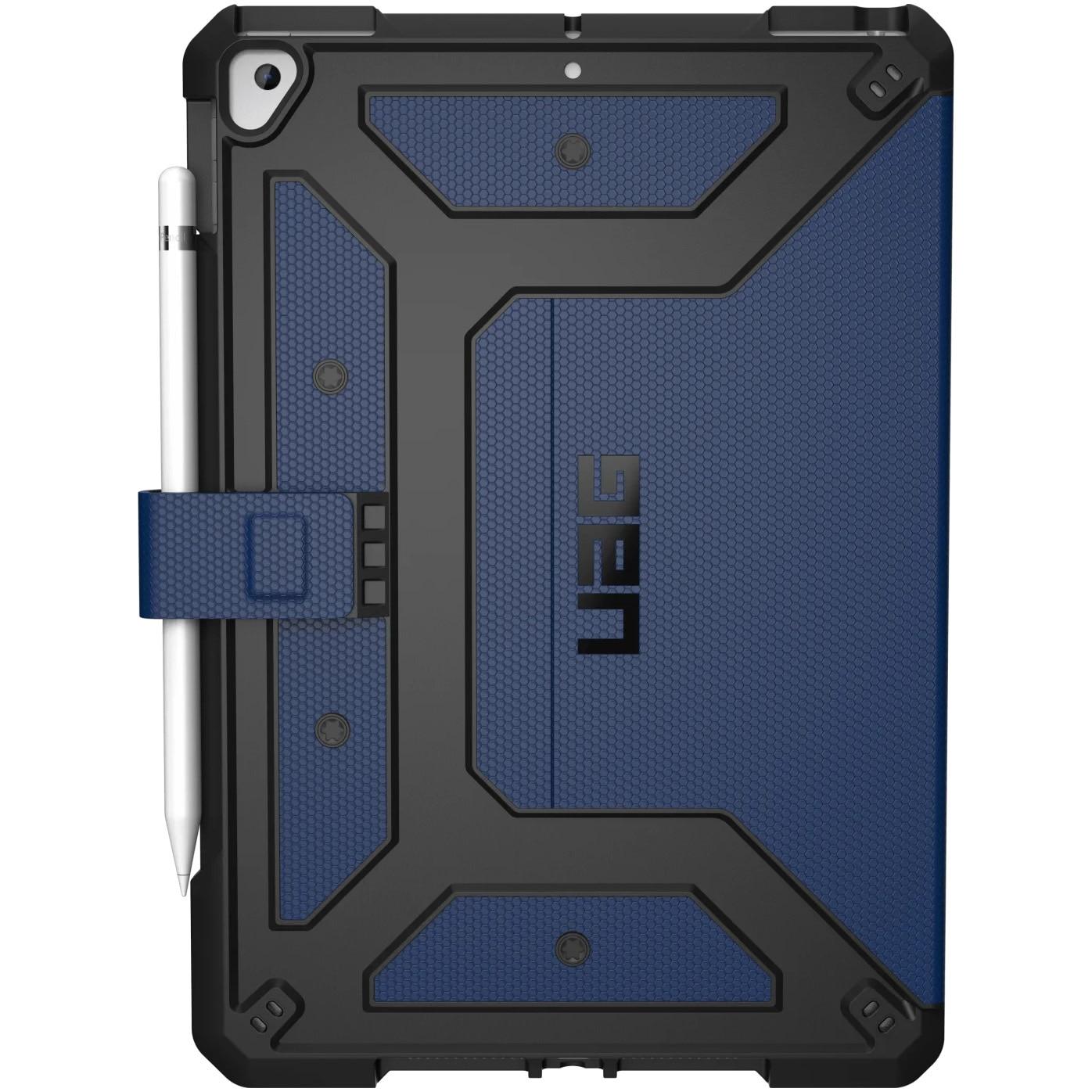 Fotografie Husa de protectie UAG Book Metropolis Series pentru Apple iPad 7 10.2 inch, Military drop tested, Cobalt Blue