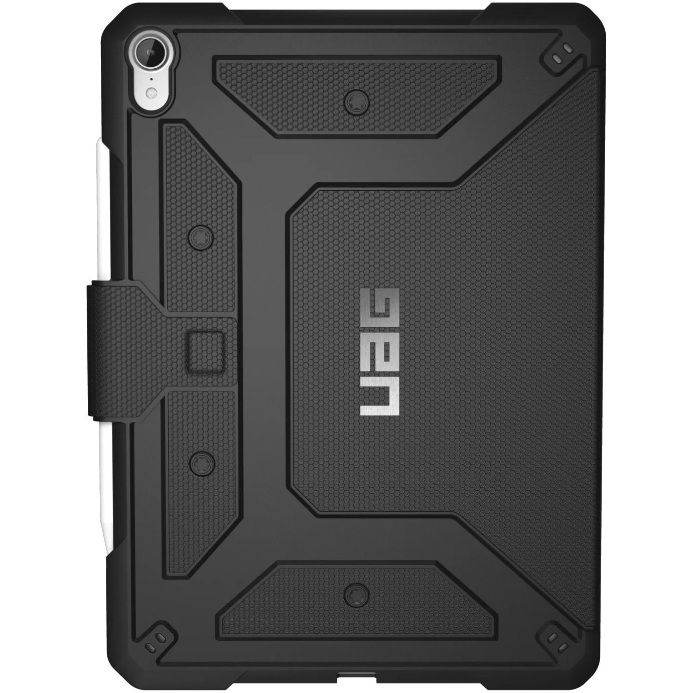 Fotografie Husa de protectie UAG Book Metropolis Series pentru Apple iPad Pro 11 inch, Military drop tested, Black