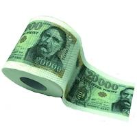 20000 Ft pénz mintás WC papír