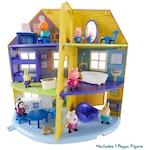 Комплект Peppa Pig, Peppa's family home, къща с мебели и включена фигурка