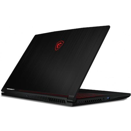 "Laptop Gaming MSI GF63 Thin 10SCXR-665XRO cu procesor Intel Core i7-10750H pana la 5.00 GHz, 15.6"", Full HD, 144Hz, 8GB, 512GB SSD, NVIDIA GeForce GTX 1650 Max-Q 4GB, Free DOS, Dark Grey"