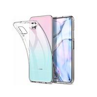 Силиконов гръб Case за Huawei P40 Lite, Прозрачен