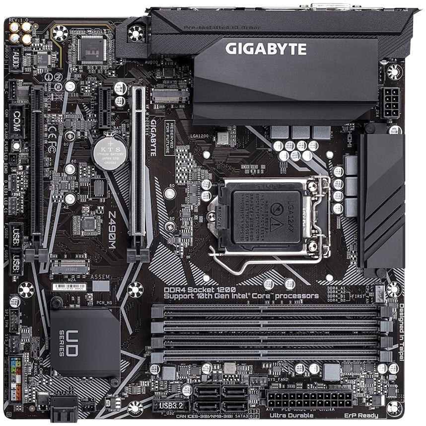 Fotografie Placa de baza Gigabyte Z490M, Socket 1200