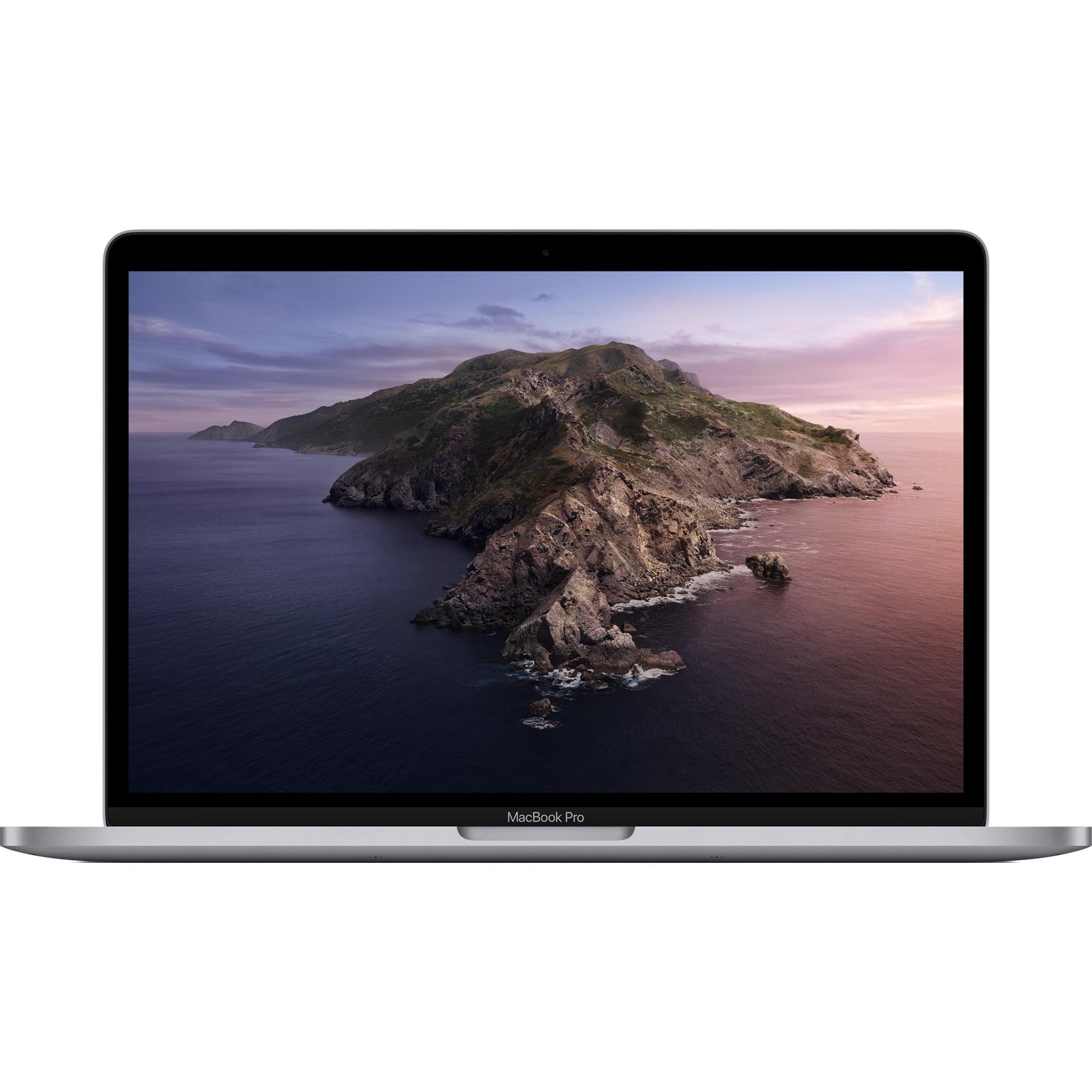 "Fotografie Laptop Apple MacBook Pro 13"" 2020 Touch Bar, procesor Intel® Core™ i5 1.4GHz, 8GB, 256GB SSD, Intel Iris Plus Graphics 645, Space Grey, INT KB"
