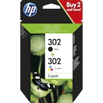 Пакет касета с мастило HP 302 Ink Cartridge Combo 2-Pack X4D37AE