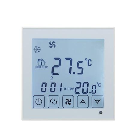 Vezetékes termosztát légkondicionáláshoz BeOk TDS23-AC2, kompatibilis a HVAC rendszerekkel