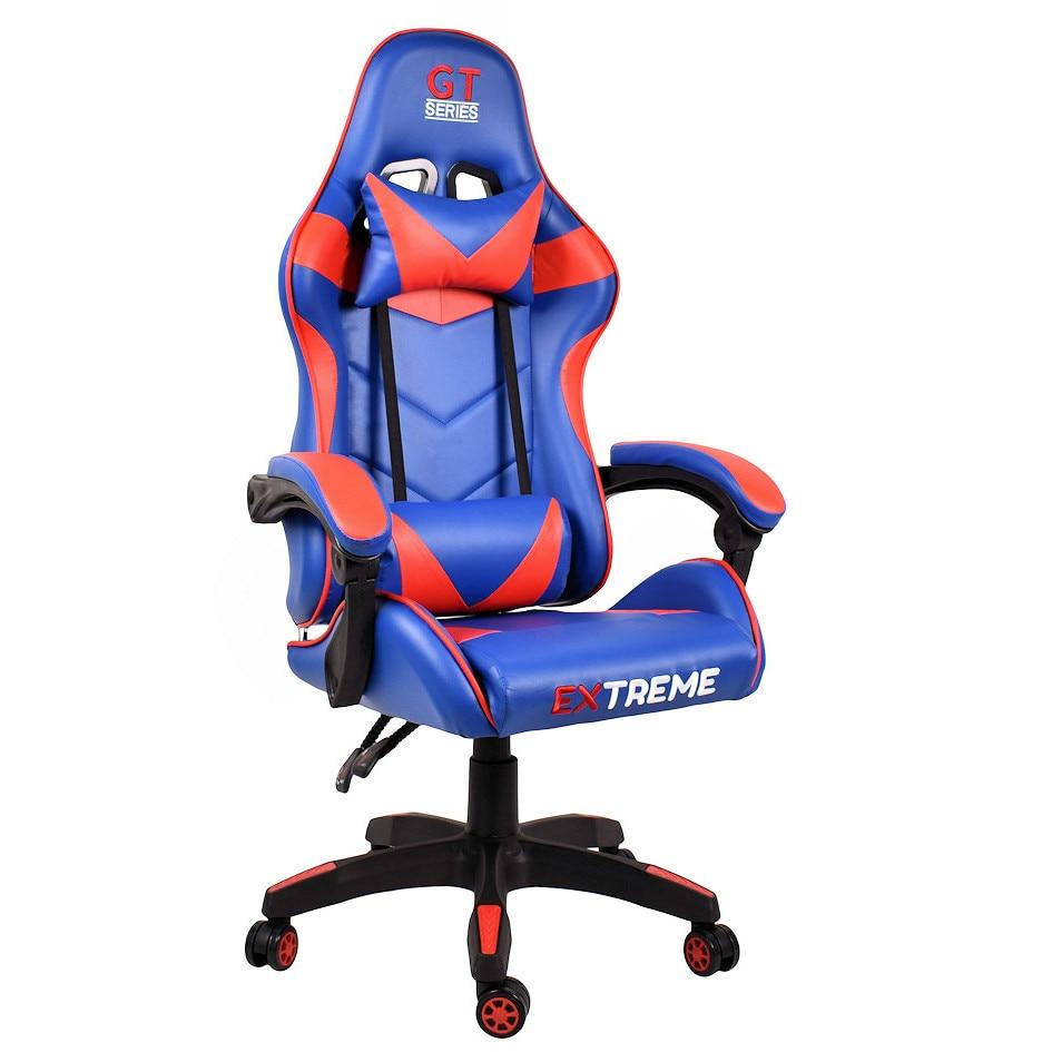 világos kék gamer szék