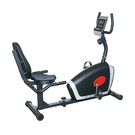 Bicicleta fitness orizontala GOODLIFE GL416, Magnetica, Volanta 5 kg, Greutate utilizator 100 kg