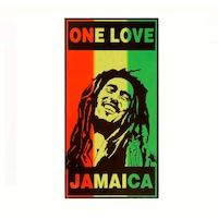 Плажна кърпа JMB Ямайка, Памук, 70x140 cm