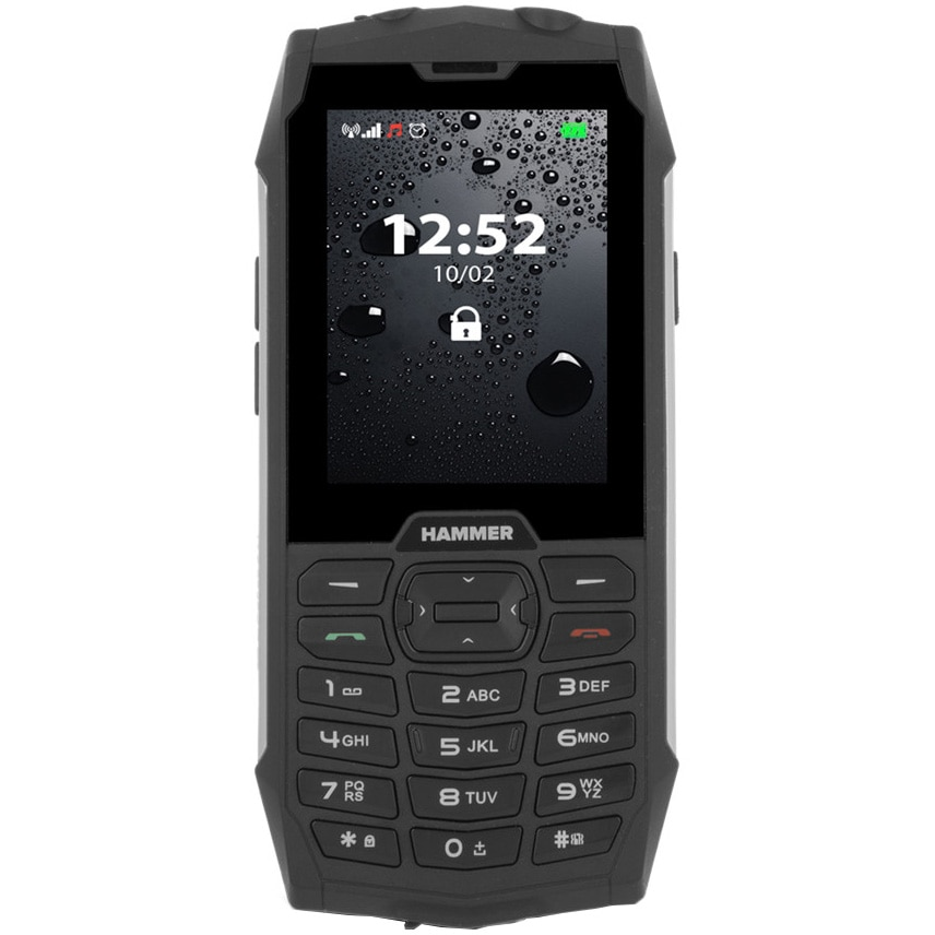 Fotografie Telefon mobil MyPhone Hammer 4, Dual SIM, Silver
