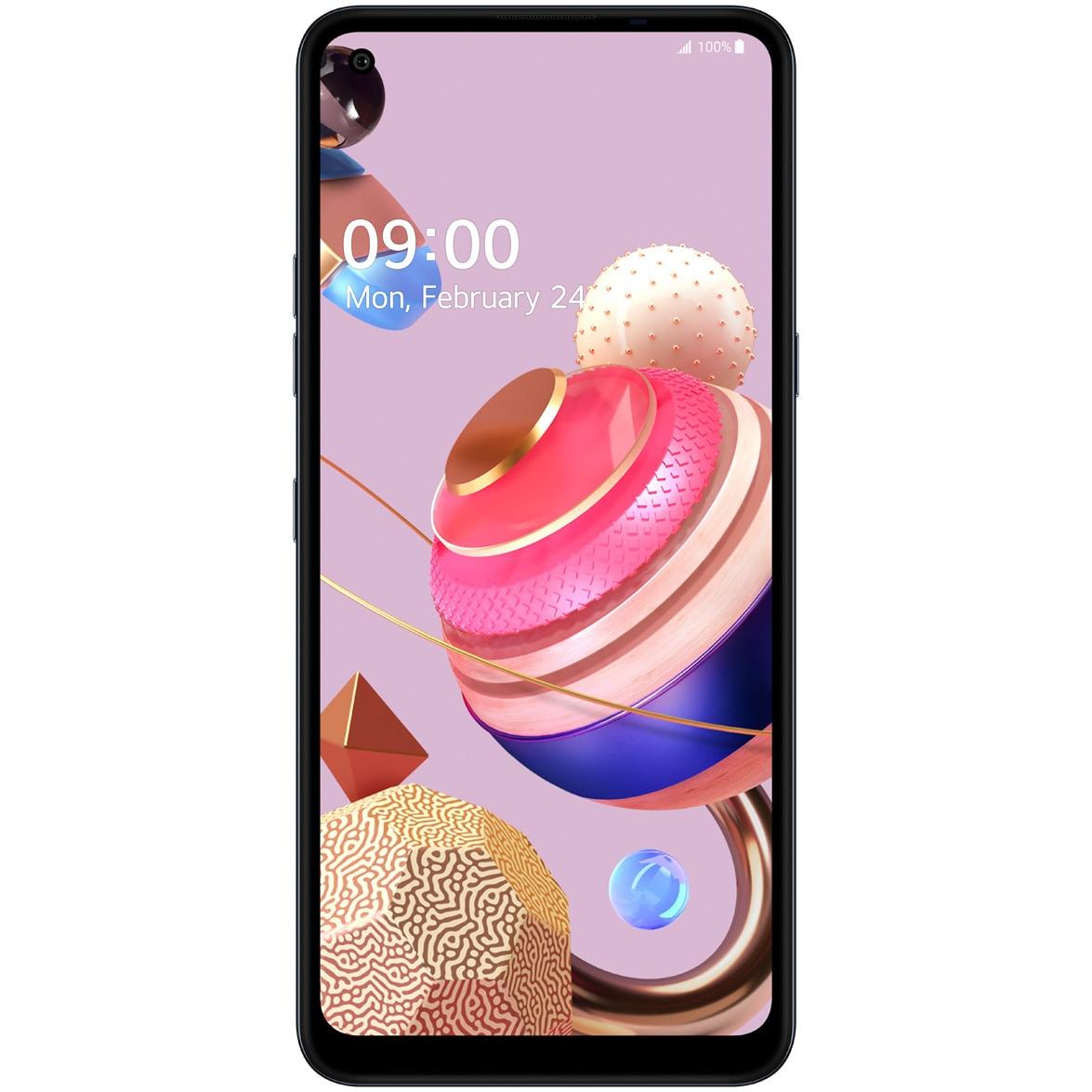 Fotografie Telefon mobil LG K51S, Dual SIM, 64GB, 4G, Titanium