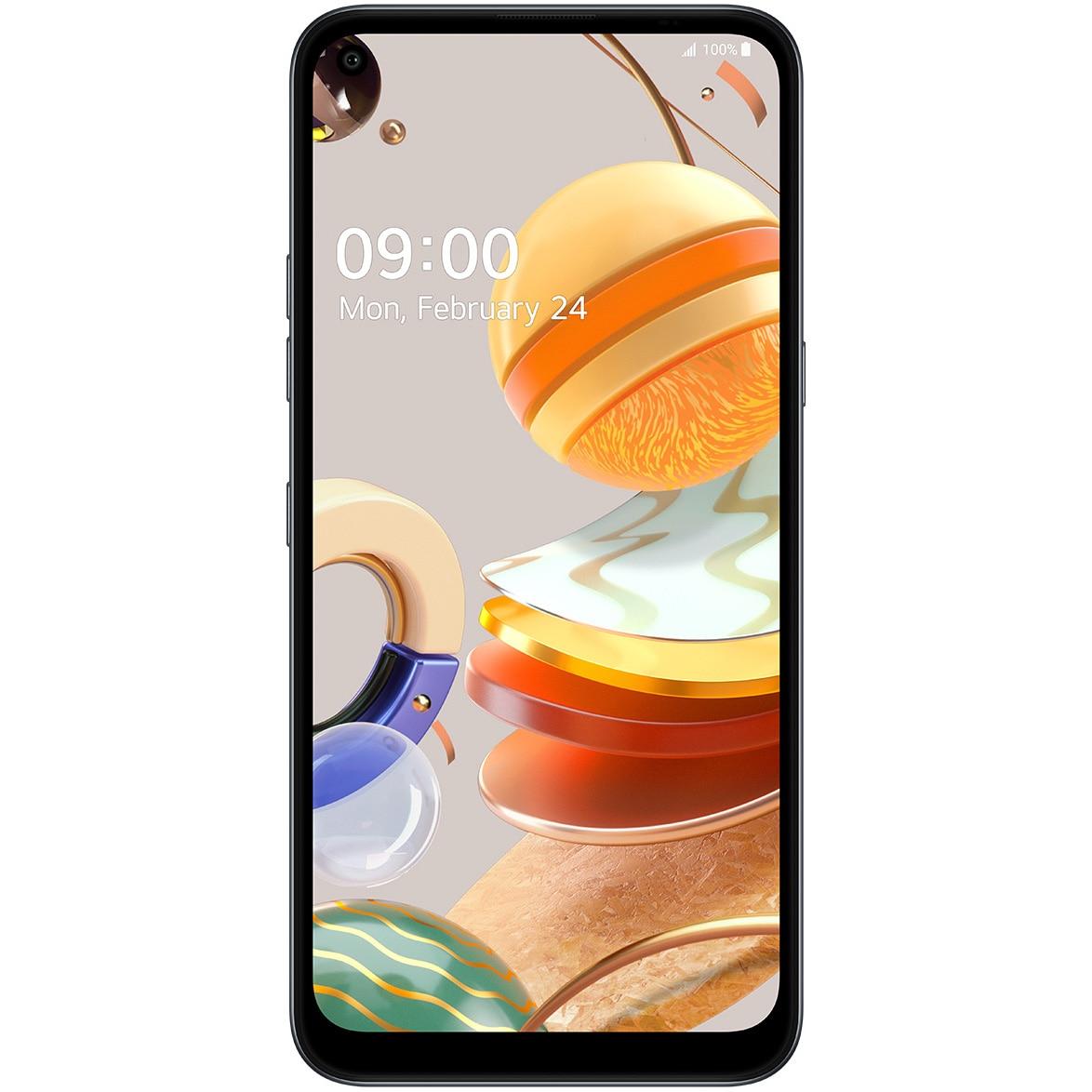 Fotografie Telefon mobil LG K61, Dual SIM, 128GB, 4G, Titanium