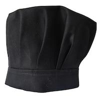 Boneta de bucatar universala falduri si velcro, tercot, negru, Coolibri