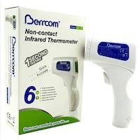Berrcom Medical lázmérő érintés nélküli testhőmérséklet mérő, homlok hőmérő 32°C - 42°C, nagy pontosságú lázmérő,Érintésmentes hőmérő, infravörös lázmérő, digitális lázmérő