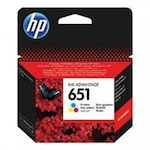 Глава HP 651 C2P11AE, Tri-Color, Три цвята, Мастило за принтер