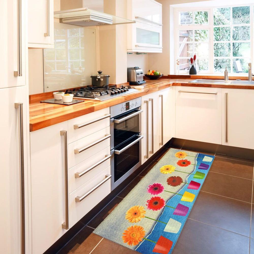 Lavender fokozottan ellenálló konyhai szőnyeg, 60 x 240 cm