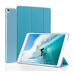 Gigapack Bőr hatású tok, Apple iPad Pro 10.5 (2017), álló, aktív flip, oldalra nyíló, TRIFOLD asztali tartó funkció, Kék