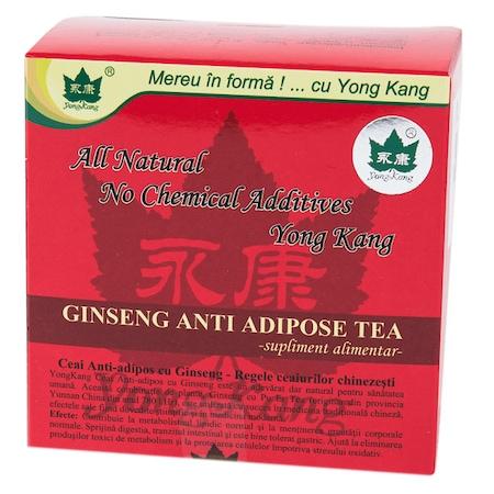 ginsengin ceai antiadipos