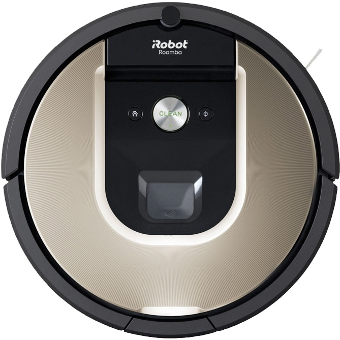 Fotografie Robot de aspirare Roomba 974, WiFi, putere de aspirare mare, perii duble multi-suprafata, navigatie camere multiple, se reincarca si rei, tehnologie Dirt De