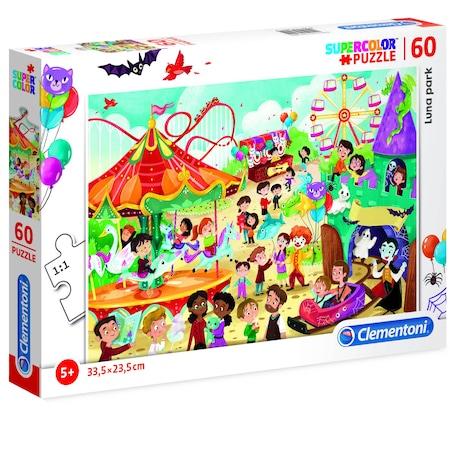Puzzle Clementoni, Luna park, 60 piese