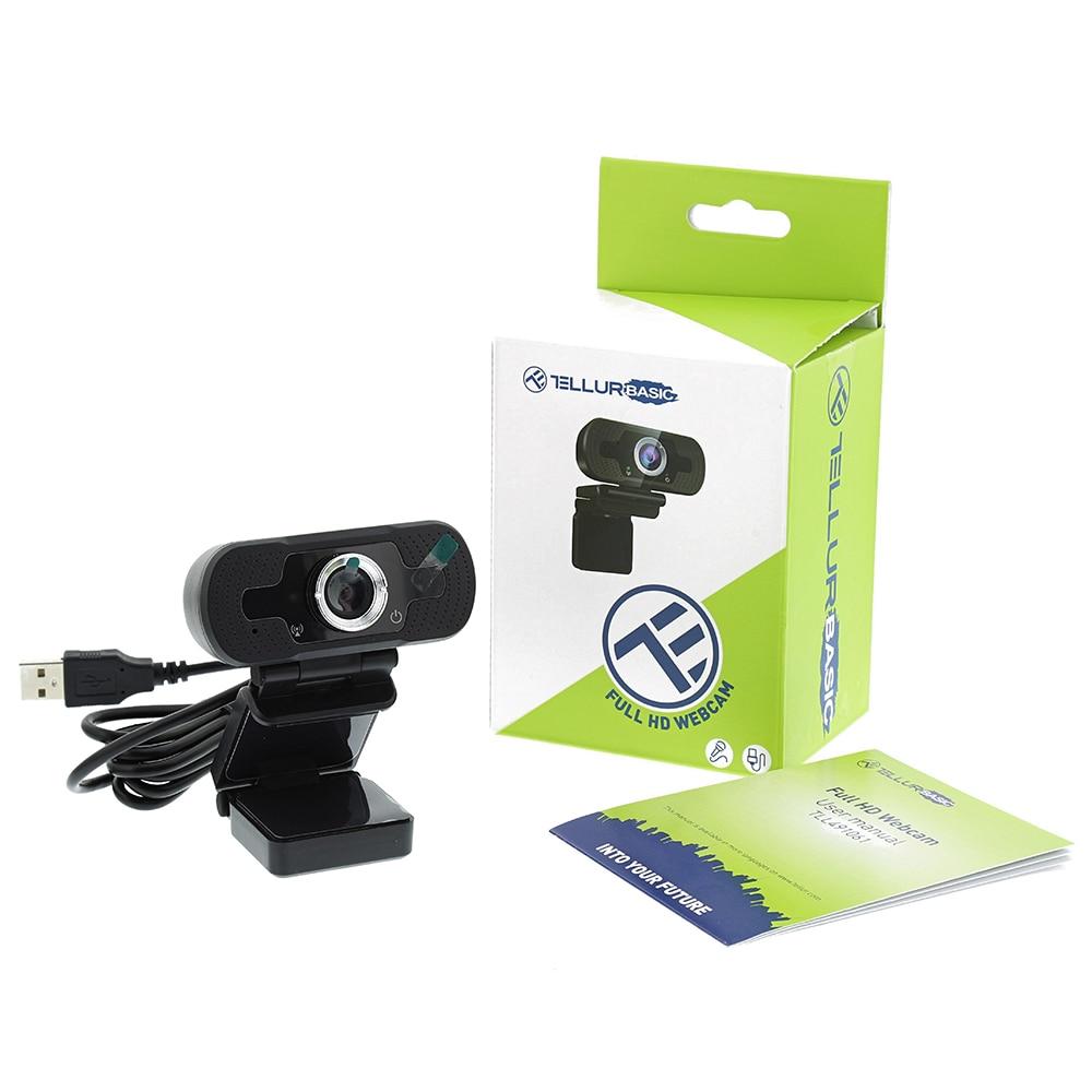 Fotografie Camera web Tellur Basic full HD, 1080P, USB 2.0