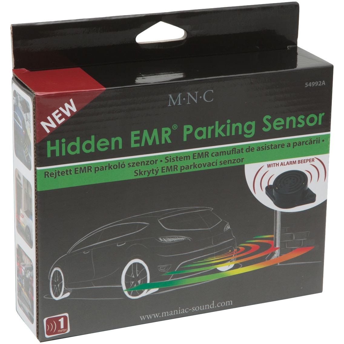 Fotografie Senzor de parcare MNC cu banda EMR camuflata, 220 cm
