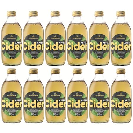 Pachet 12 sticle Cidru Clasic, Katlenburger 3,96 L