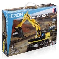 CaDA - távirányítós markoló 544 db-os építőkészlet